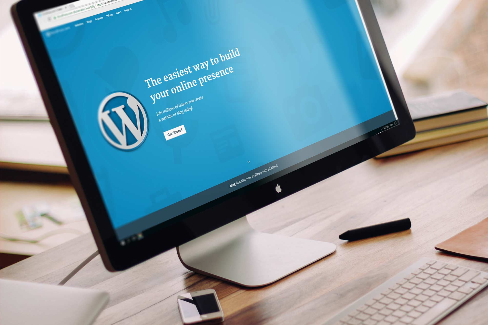 Strona na WordPress